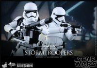 Hot Toys - Star Wars The Force Awakens: First Order Stormtroopers - Movie Masterpiece 1/6 Scale Collectibles Figures Set